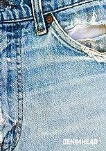 DENIMHEAD: 7x10 wide ruled notebook : vintage denim Levis Jeans