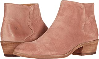 Frye Women's Carson Piping Bootie Ankle Boot, Light Rose, 7.5