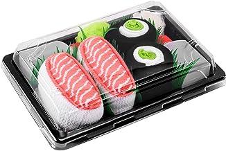 Rainbow Socks - Damen Herren - Sushi Socken Lachs Nigiri Gur