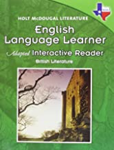 Holt McDougal Literature: English Language Learner Adapted Interactive Reader British Literature