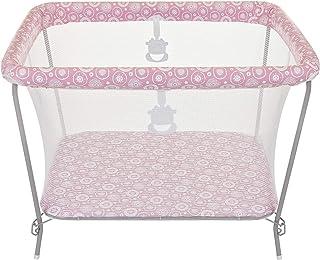 Cercado para Bebês Essencial, Tutti Baby, Rosa com Estampa