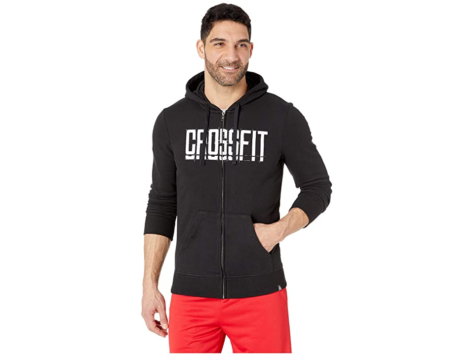 Reebok Crossfit(r) Zip Hoodie (Black) Men