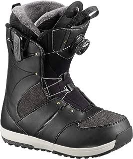 Salomon Snowboards Ivy Boa Snowboard Boot - Women's Black, 10.5