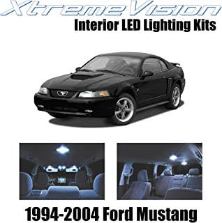 XtremeVision Interior LED for Ford Mustang 1994-2004 (5 Pieces) Cool White Interior LED Kit + Installation Tool