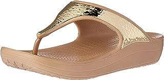 crocs Sloane Embellished Women Flip in Gold
