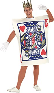 Men's King Hearts Costume