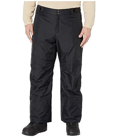 Columbia Big Tall Bugaboo IV Pants (Black) Men