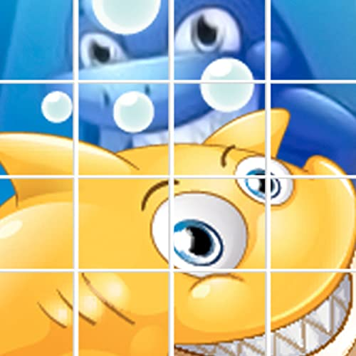 New Baby Shark Pictures Daddy Sharks Puzzle Game