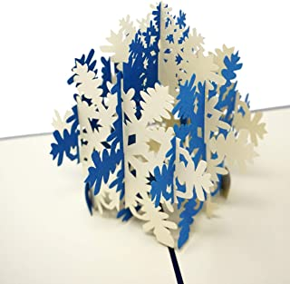 Christmas Pop Up Cards - WOW 3D Cards (Blue Snowflake)