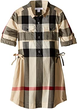 d5957840589f Girls Burberry Kids Dresses + FREE SHIPPING | Clothing | Zappos.com