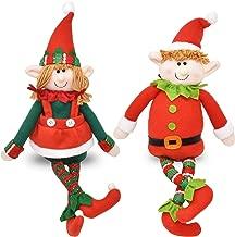 Set of 2 Christmas Elves Figurines 16