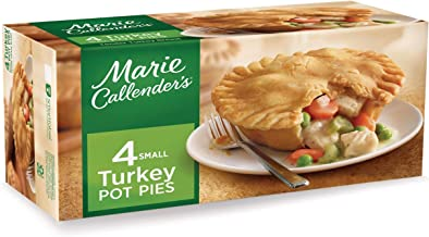 Marie Callender's Turkey Pot Pie, 10 Ounce (Pack of 4)