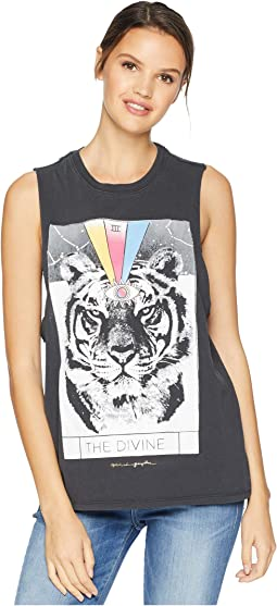 Divine Cut Off Band Tank Top