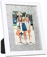 Lawrence Frames Shine Picture Frame, 4x6, White