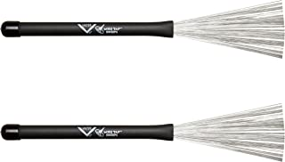 Vater VBSW Sweep Retractable Wire Drum Brushes, Pair