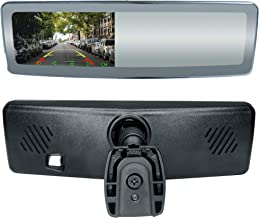 Master Tailgaters Frameless Rear View Mirror with 4.3