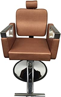 Rose Gold Executive Luxurious Reclining Hydraulic Salon Barber Beauty Spa Chair