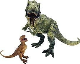 伊豆シャボテン本舗 ティラノサウルス 2点セット 恐竜フィギュア 子供 知育 怪獣 おもちゃ 誕生日