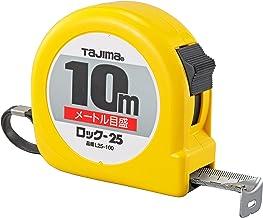 Tajima professionele - meetlint, 10 m/25 mm geel, 1 stuks, TAJ-24220