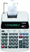 $57 » Canon Office Products 2204C001 Canon P170-DH-3 Desktop Printing Calculator with Currency Conversion, Clock & Calendar, and...