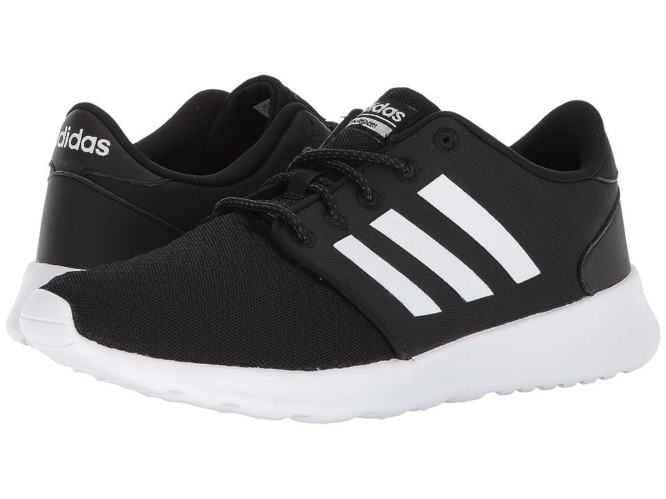 adidas Cloudfoam QT Racer (Black/White/Carbon) Women