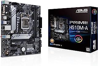 ASUS PRIME H510M-A/CSM LGA1200 (Intel® 11th/10thGen) Micro-ATX Commercial motherboard (PCIe 4.0, M.2 NVMe SSD,1G LAN, USB ...