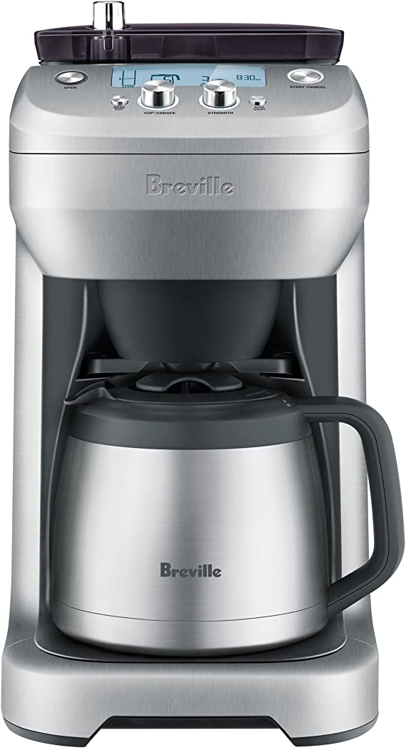 Breville coffee maker with grinder