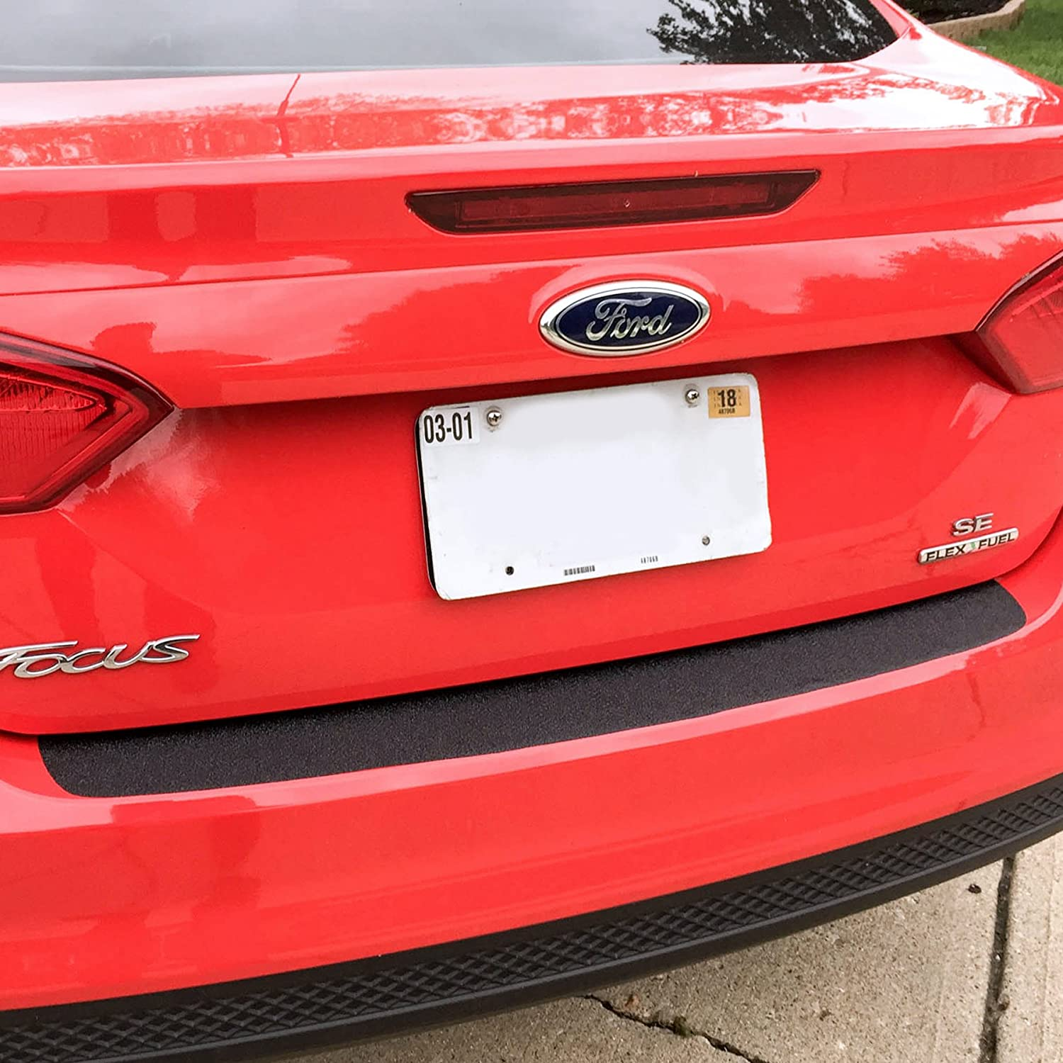 Super Popular shop is the lowest price challenge sale Rear Bumper Scuff Scratch Protector with 2012-2018 Fo Compatible