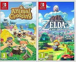 The Legend of Zelda: Links Awakening + Animal Crossing: New Horizons - 2 Game Bundle - Nintendo Switch