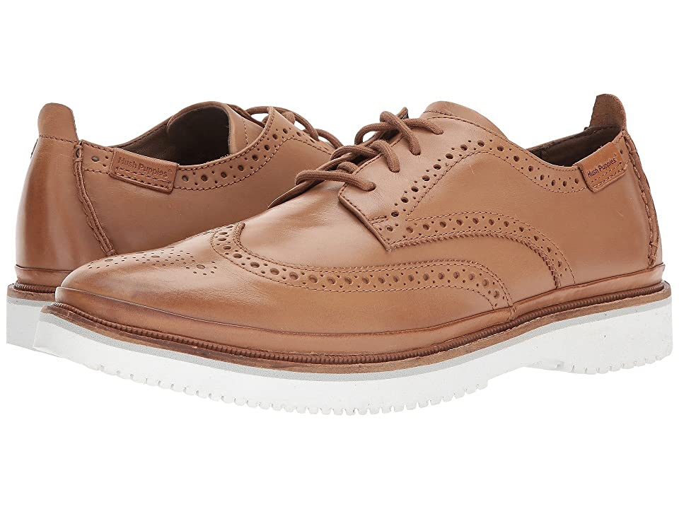 Hush Puppies Samme Bernard (Tan Leather) Men