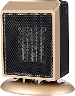 Calefactor Eléctrico,Calefactore Cerámicos Ventilador de Calentador PTC 2 Modo de Calefacción 900W/500W Calentamiento Rapido Protección Contra Sobrecalentamiento Protección contra el Dumping