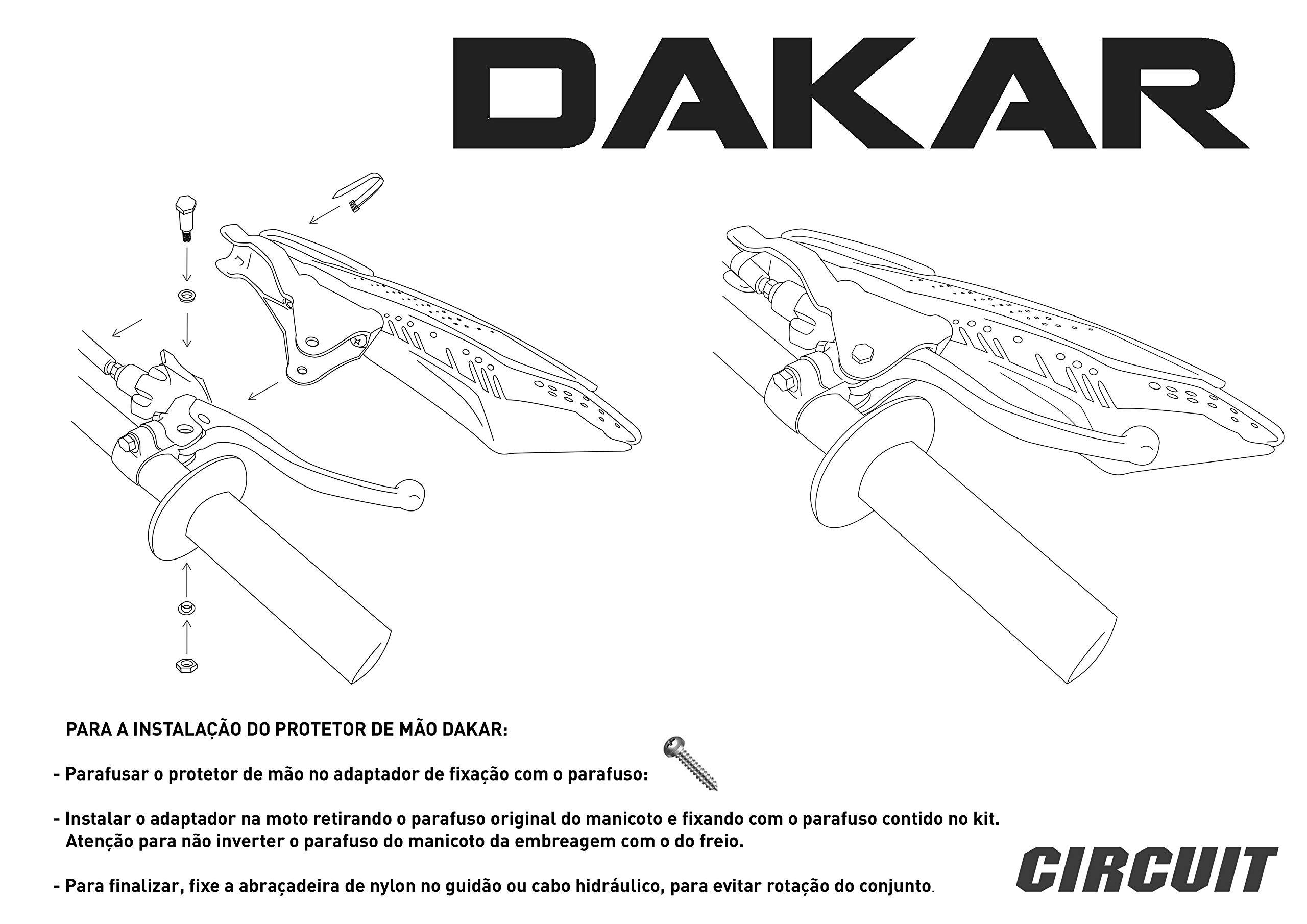 CIRCUIT PM028-2D9 Paramani Dakar Carbon-Arancione