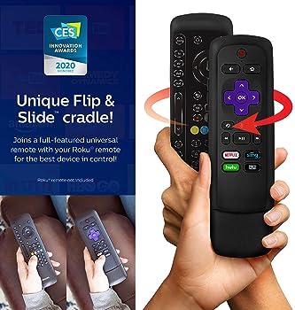 Philips Universal Companion Remote Control for Samsung, Vizio, LG, Sony, Roku, Apple TV, RCA, Panasonic, Smart TVs, S...