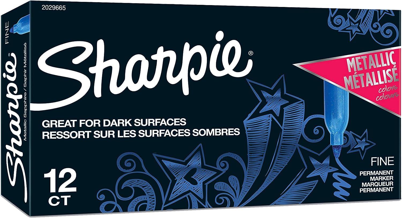 Ranking TOP15 Dedication Sharpie Metallic Permanent Markers Sapphire Point Fine 12-Cou