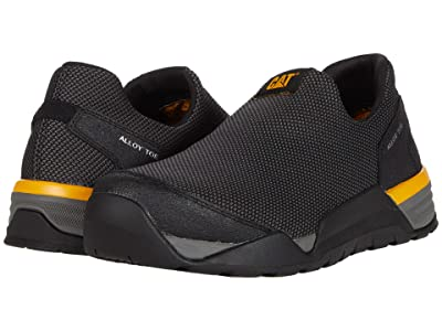 Caterpillar Sprint Mesh Moc Alloy Toe (Black) Men