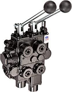 Prince RD522GCGA5A4B1 Directional Control Valve, Two Spool, 4 Way, 4 Position, Tandem Center, Float Spool, Cast Iron, 3000 psi, Lever Handle, 25 gpm, In/Out: 3/4
