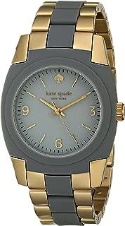 kate spade new york Women's 1YRU0624 Skyline Analog Display Japanese Quartz Grey Watch