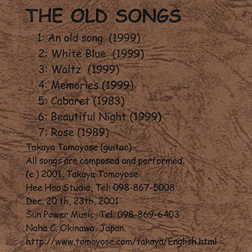 The Old Songs:2002