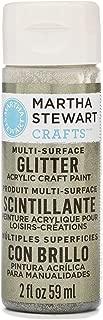 Martha Stewart Crafts Martha Stewart Multi-Surface Glitter Craft Antique Silver, 2 oz Paint