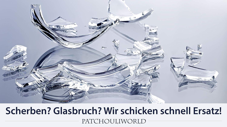 TOP! 14,5er Schliff BamBamBhole Glasbong H/öhe 170mm Siebe inkl