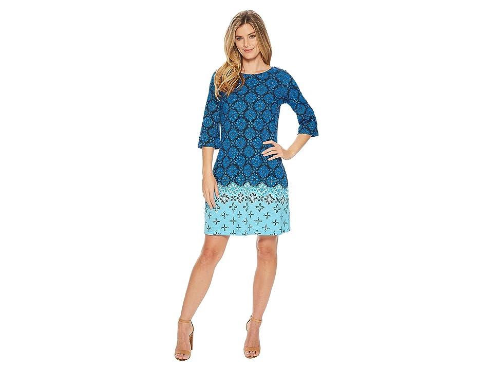 Hatley Fiona Dress (Blue Compass Roses) Women