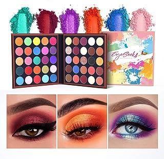 EYESEEK Eyeshadow Palette Matte 50 Colors High Pigmented Colorful Eyeshadow Makeup Palette Shimmer Bright Color Eye Shadow Powder Easy To Blend Long Lasting Waterproof Makeup Pallet #Neon