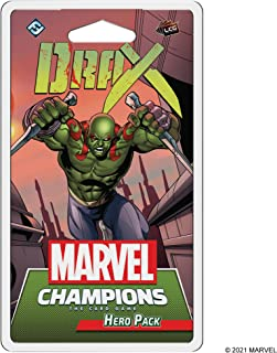 Marvel Champions: The Card Game - Drax Hero Pack | Marvel Card Game for Teens and Adults | Ages 14+ | for 1-4 Players | Av...
