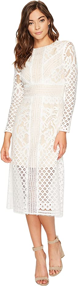 KEEPSAKE THE LABEL - Bridges Lace Long Sleeve Dress