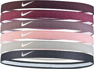 Nike Swoosh - Diademas Deportivas para Mujer (6 Unidades)