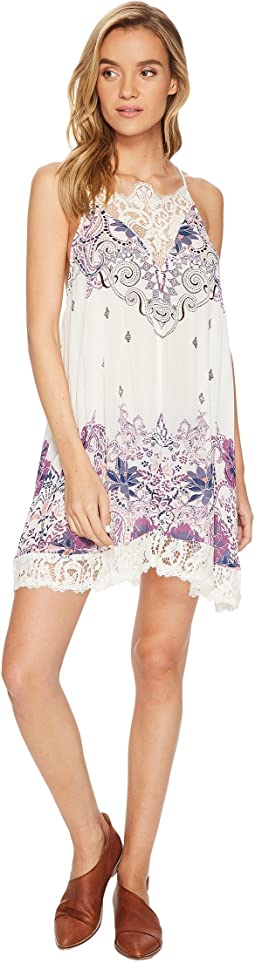 Free People - Who's Sorry Now Printed Slip Dress