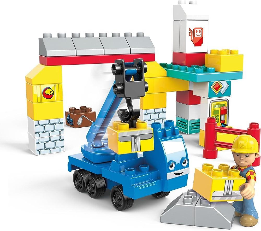 Mega construx,mattel bob, giocattolo di costruzione FFF23