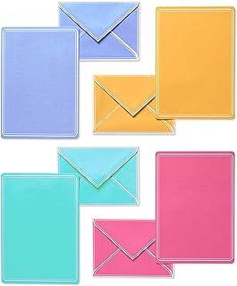 ورق های لوازم التحریر پاستل و تبلت های رنگی ، 80 عددی