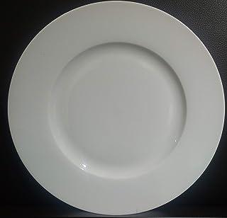 "SYMPHONY 10.5"" SUPER WHITE PROCELAIN DINNER SET PLATE"