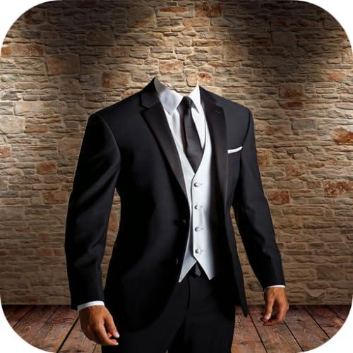 Man Suit Outfit Photo Maker